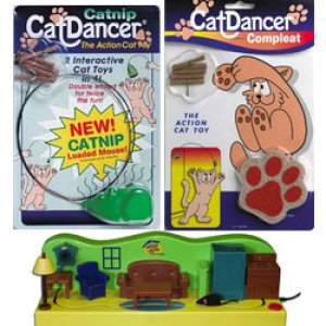 Cat Dancer to entertain cats for hours